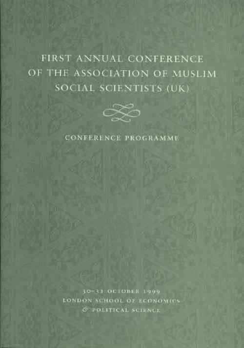 AMSS (UK) 1st Annual Conference