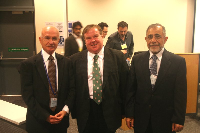 ... University of Chester (middle) , Dr Jamal Barzinji, Vice-President